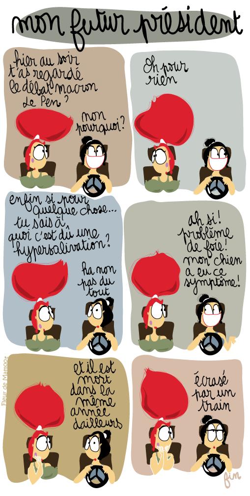 bande dessinée humoristique president politique