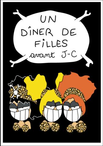 bande dessinée humour un diner de filles