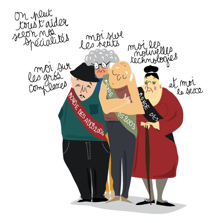 anciens lecteurs monde des ados dessins illustration