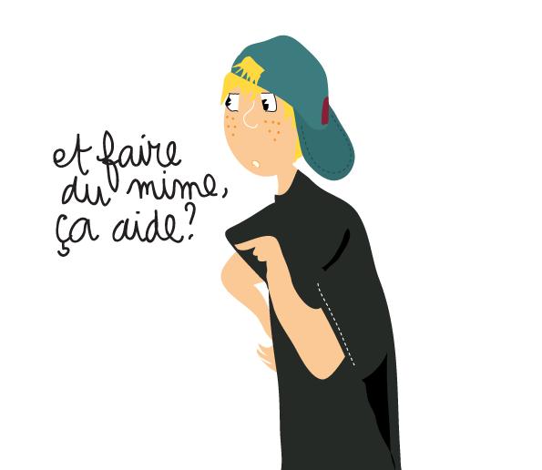 dessin-humour-ado-mimer-ou-parler